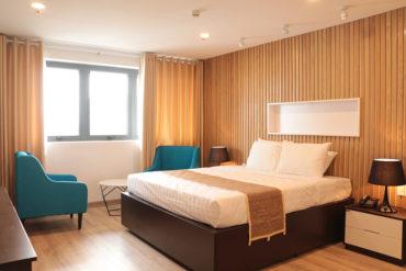 Các phòng tại Sulyna Hotel để sinh viên thực tập nghiệp vụ