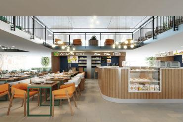 Khu ẩm thực Food Court (2)