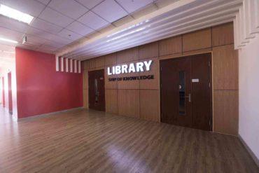 Thư viện HIU tại Tòa nhà Con tàu tri thức HIU 215 Điện Biên Phủ