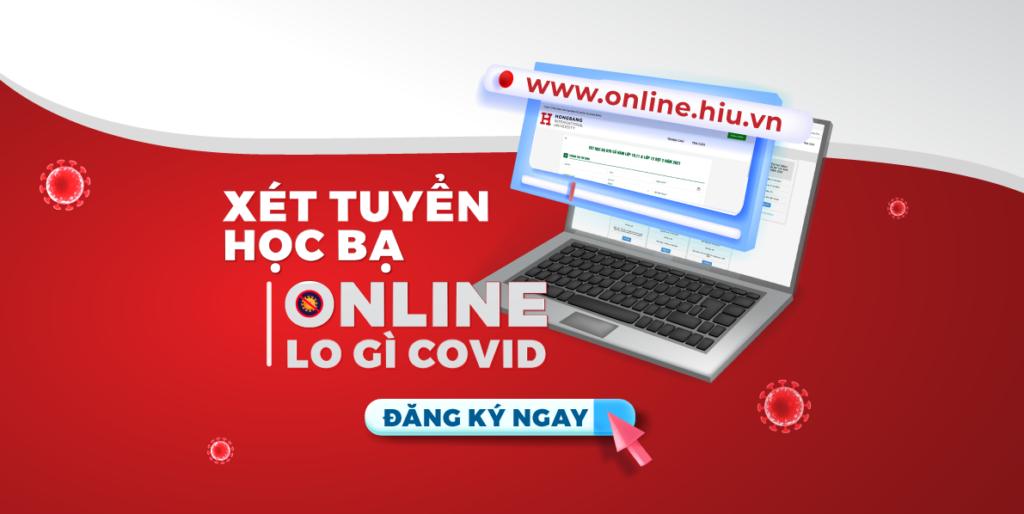 Xét học bạ online