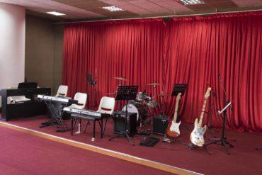 Nhạc cụ tại Phòng Âm nhạc