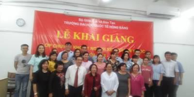 Hình ảnh khai giảng lớp CK1-XNYH đợt 1-2