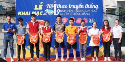 Lễ khai mạc hội thao SV lần IV năm học 2018-2019