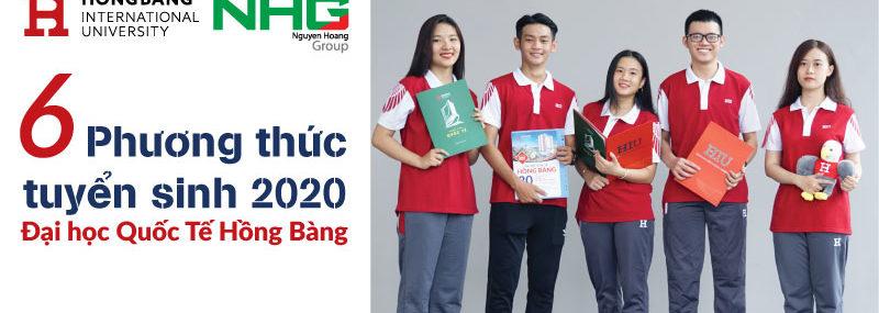 6 phương thức tuyển sinh 2020