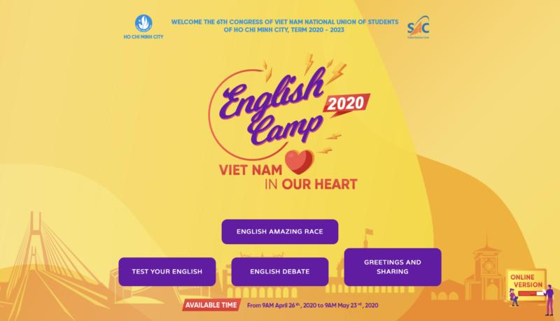"""Mời Sinh viên HIU thử tài cùng """"English Amazing Race 2020"""" – Chủ đề """"Viet Nam in your Heart"""""""