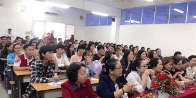 Hình ảnh buổi lễ chào đón tân sinh viên năm 2019