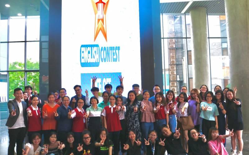 Sinh viên HIU tự tin chinh phục các thử thách tại vòng Bán kết cuộc thi tiếng Anh