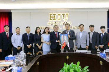 Lễ ký kết hợp tác với Đại học KWANG HOO