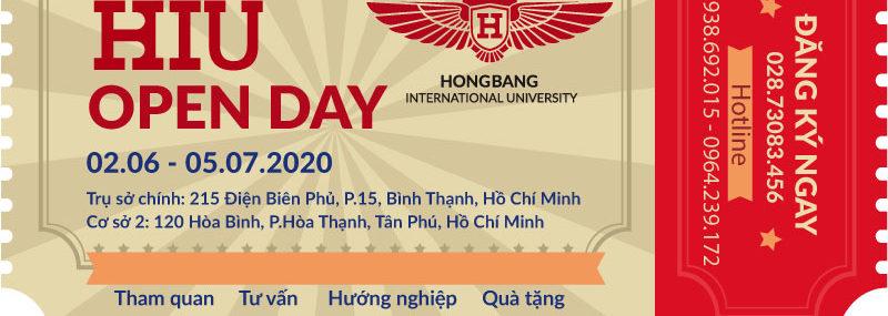 Ngày hội tuyển sinh 2020 HIU