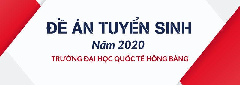 Đề án tuyển sinh 2020 của HIU