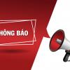 Thư mời họp với lãnh đạo tập đoàn Nguyễn Hoàng (NHG) – lớp cao học Quản trị Kinh doanh – Tài chính Ngân hàng