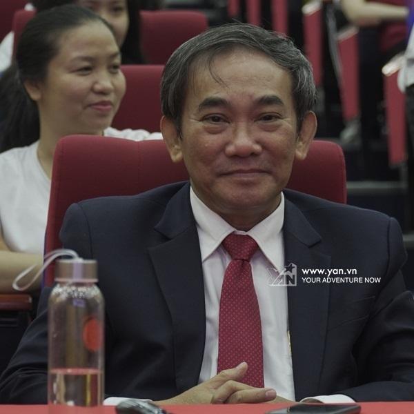 Phó giáo sư - Tiến sĩ Hồ Thanh Phong – Hiệu trưởng trường Đại học Quốc tế Hồng Bàng.