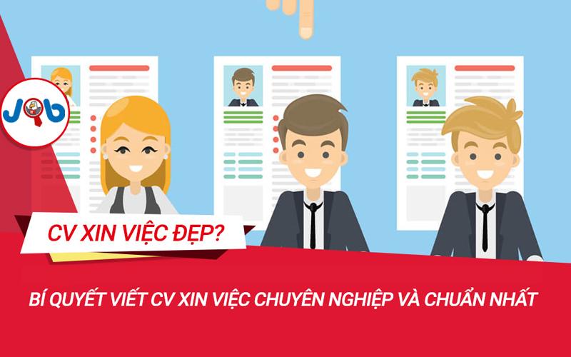 Bí kíp viết CV xin việc chinh phục nhà tuyển dụng
