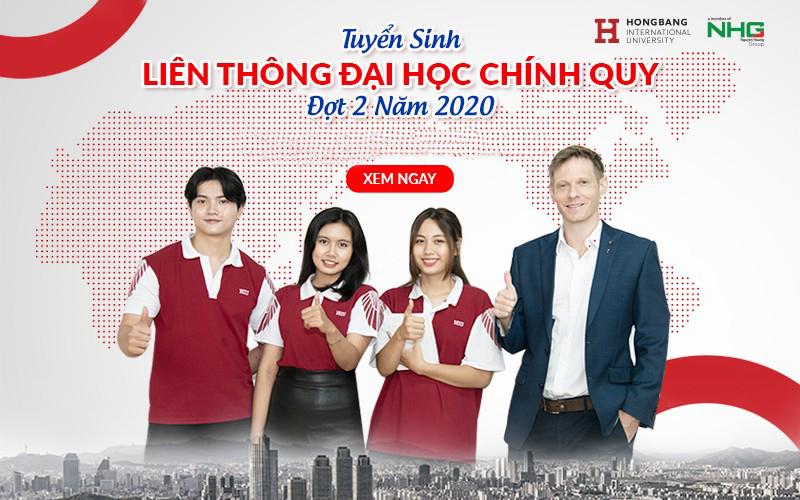 HIU tuyển sinh liên thông 2020 đợt 2