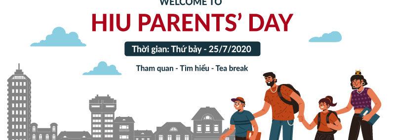 Ngày hội tham quan trường HIU Parents' Day