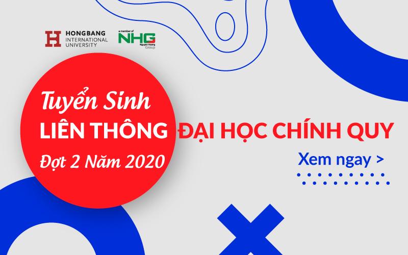 Đại học Quốc tế Hồng Bàng tuyển sinh liên thông đại học chính quy đợt 2