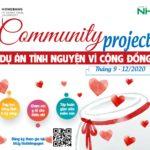 Khởi động dự án tình nguyện vì cộng đồng trong sinh viên HIU