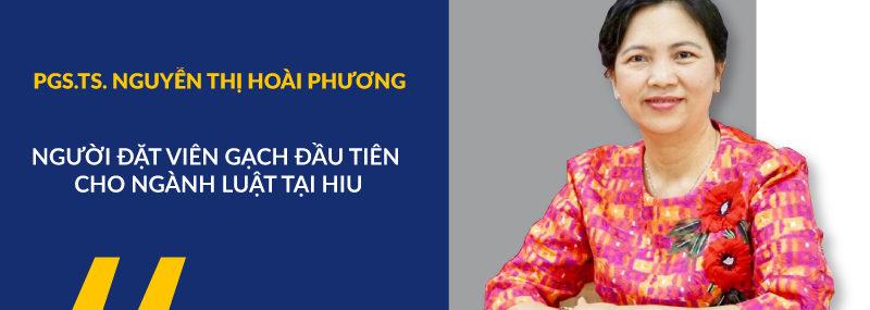 PGS. TS Nguyễn Thị Hoài Phương; Kinh Tế - Luật; Luật