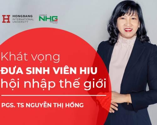 Phó Giáo sư Răng Hàm Mặt khát vọng đưa sinh viên HIU hội nhập thế giới