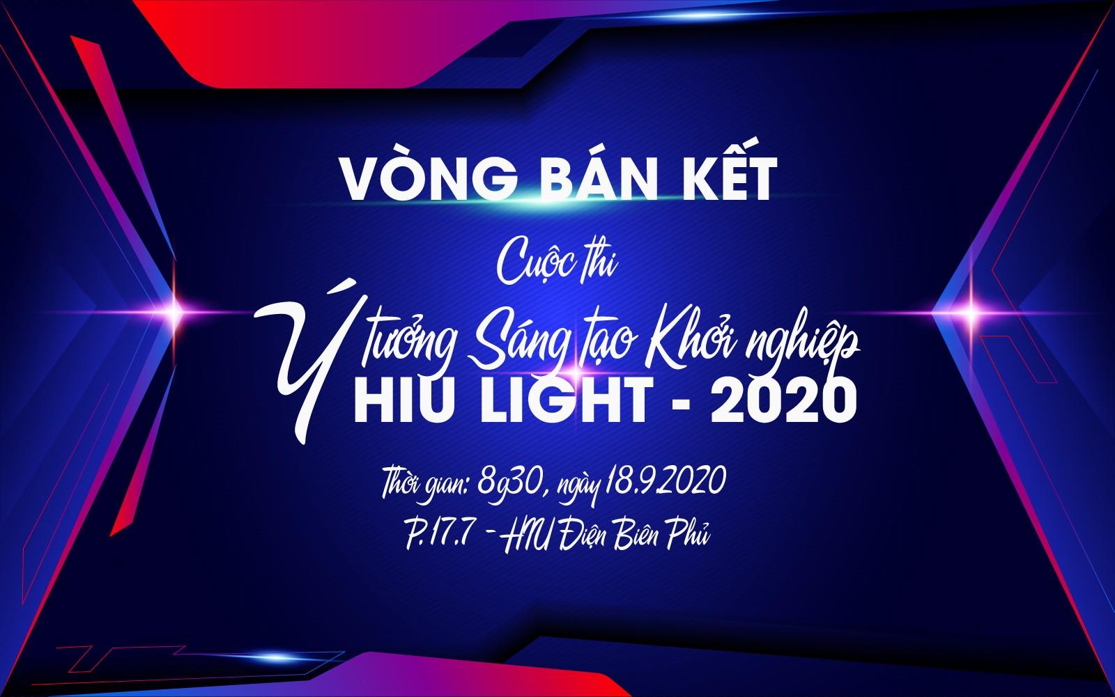 Teaser Bán kết cuộc thi ý tưởng sáng tạo Khởi nghiệp HIU Light 2020