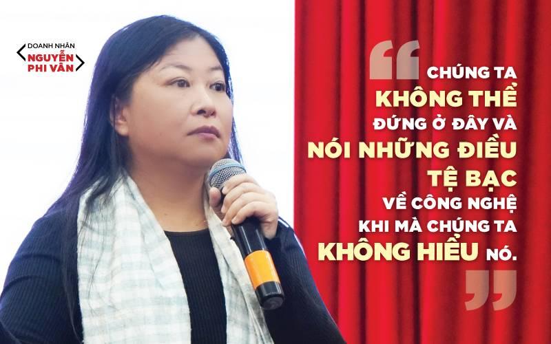 """Nguyễn Phi Vân: """"Thời của Máy chúng ta cần phải rất Người"""""""