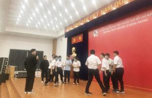HIU tư vấn hướng nghiệp và kỹ năng cho học sinh THPT Chuyên Lê Hồng Phong TP.HCM