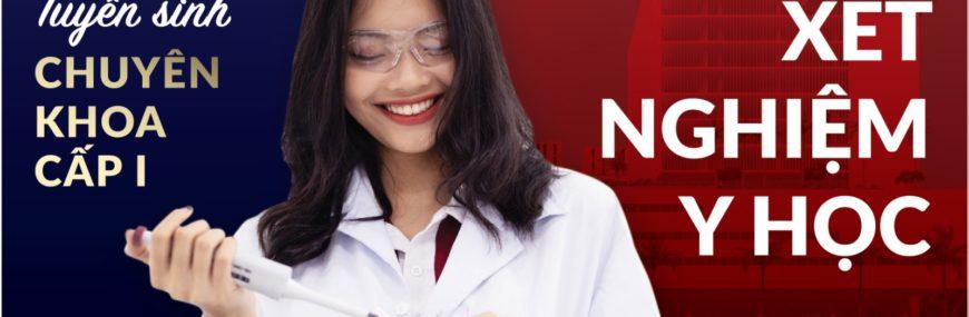 HIU tuyển sinh Chuyên khoa 1 xét nghiệm Y học