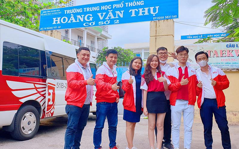 [Góc Ảnh] HIU và Hành trình tư vấn hướng nghiệp tại Nha Trang