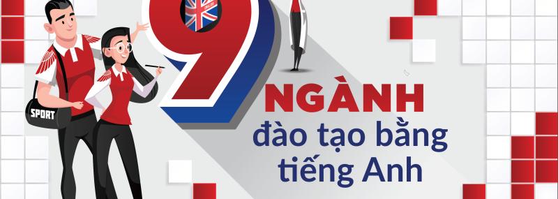 Chương trình đào tạo hoàn toàn bằng tiếng Anh