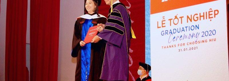 Lễ tốt nghiệp Đại học Quốc tế Hồng Bàng