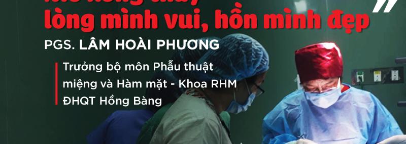 PGS TS Lâm Hoài Phương