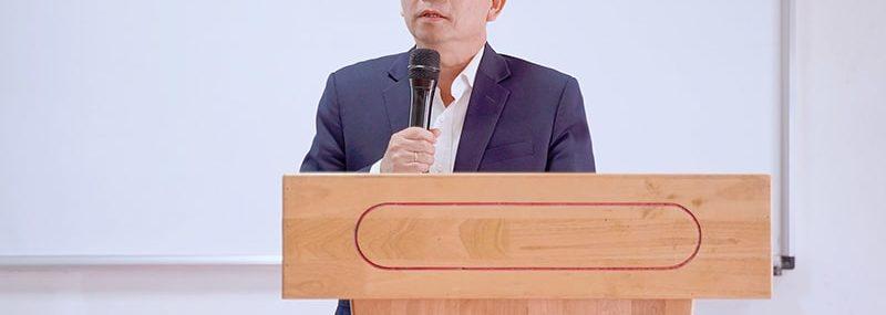 PGS.TS Lê Khắc Cường Phó Hiệu trưởng Đại học Quốc tế Hồng Bàng