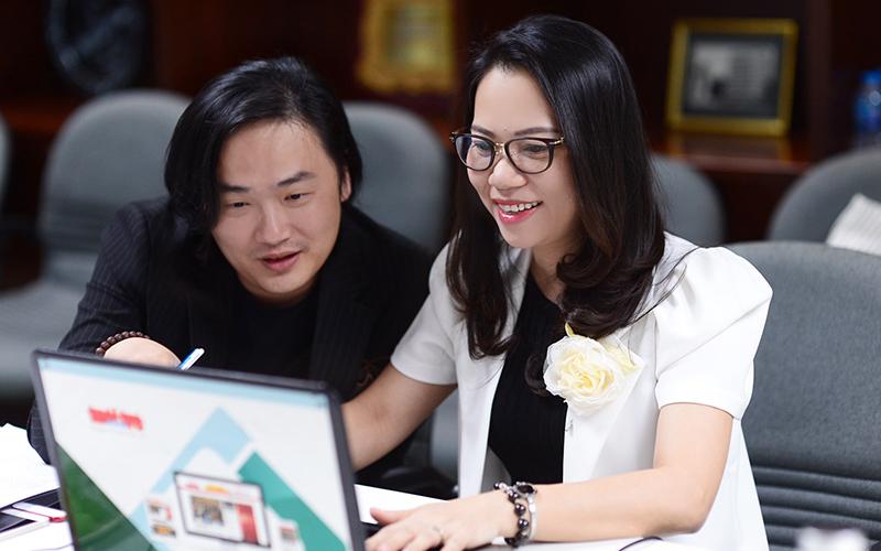 Bà Trần Thuý Trâm Quyên - Phó Hiệu trưởng Đại học Quốc tế Hồng Bàng