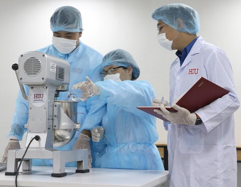 Bộ môn công nghệ sinh học Đại học Quốc tế Hồng Bàng
