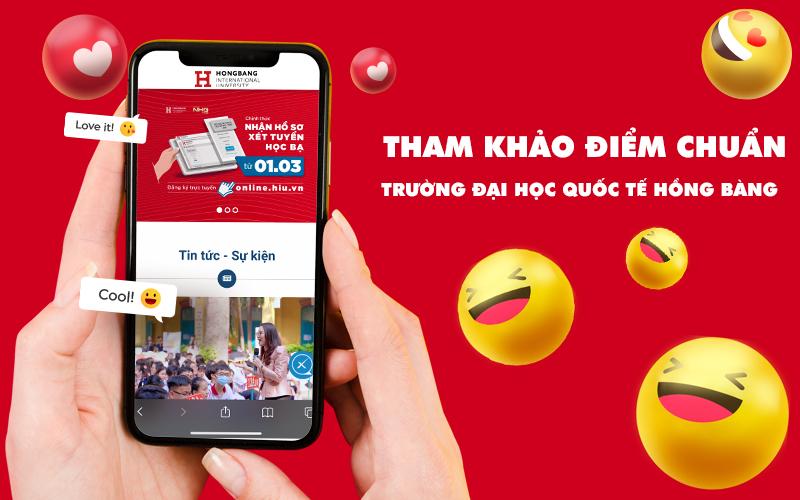 Tham khảo điểm chuẩn Trường Đại học Quốc tế Hồng Bàng