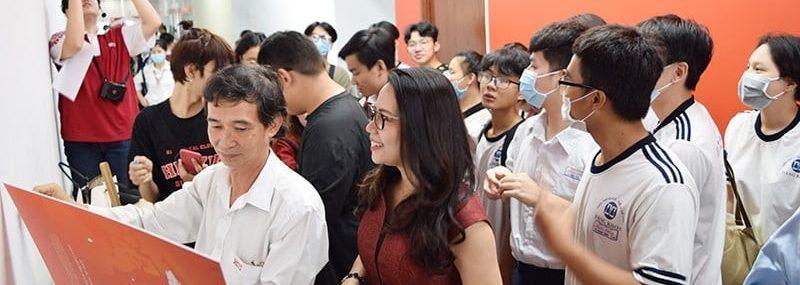 Chương trình Cùng sinh viên Kiến tạo công trình mỹ thuật HIU