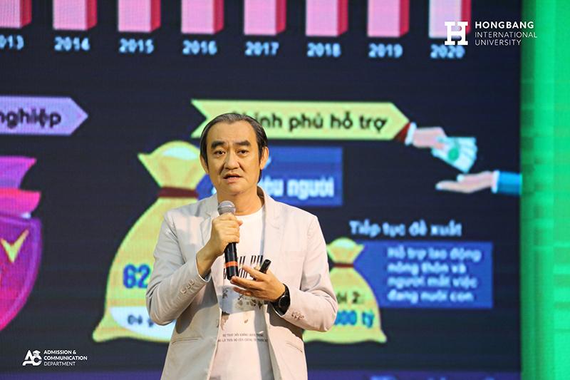 Diễn giả Mã Thanh Danh Phó Tổng giám đốc Công ty Cổ phần KiDo