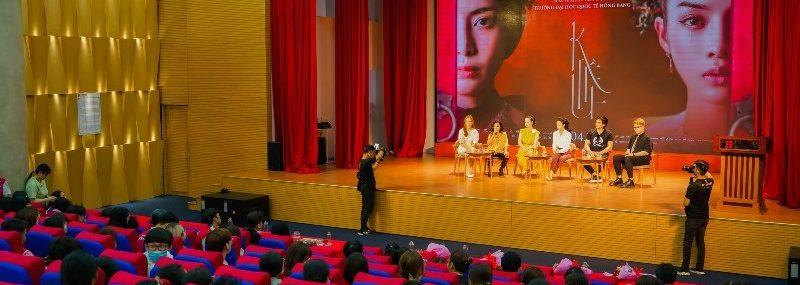 Sinh viên HIU giao lưu cùng đoàn làm phim Kiều