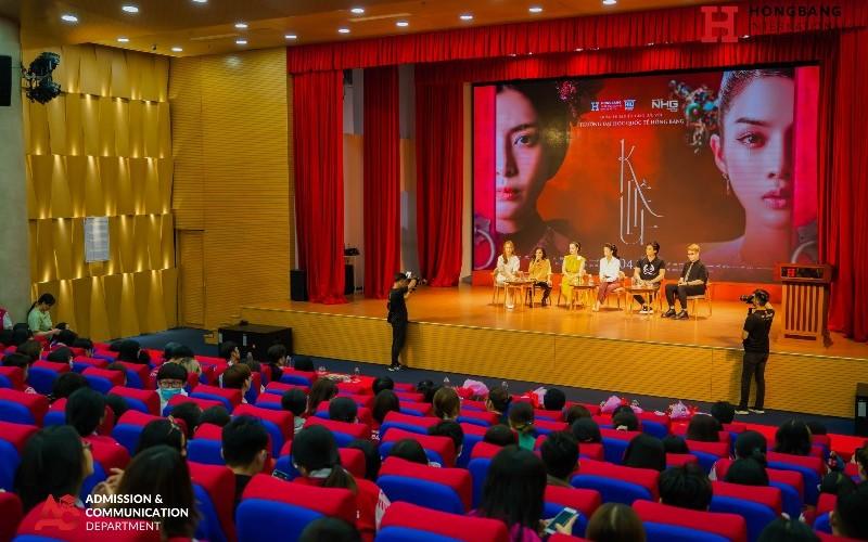 Sinh viên Đại học Quốc tế Hồng Bàng giao lưu cùng đoàn phim điện ảnh Kiều