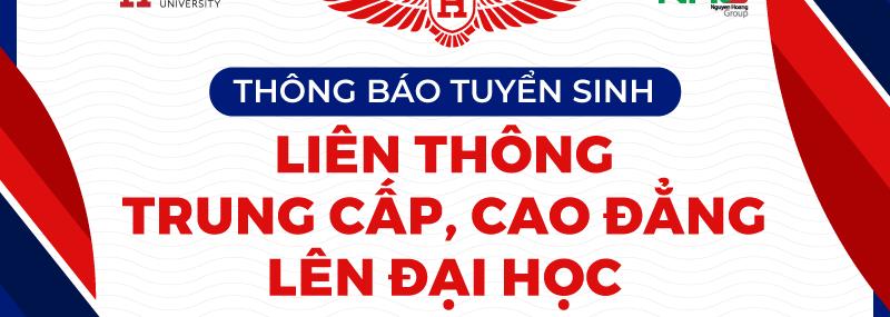 Đại học Quốc tế Hồng Bàng tuyển sinh liên thông