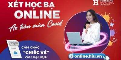 """Xét học bạ online – An toàn mùa Covid, cầm chắc """"chiếc vé"""" vào đại học"""