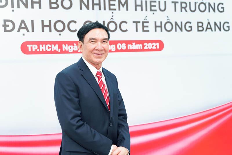 PGS.TS Phạm Văn Lình - tân hiệu trưởng Trường Đại học Quốc tế Hồng Bàng - Ảnh: VIỆT THÁI