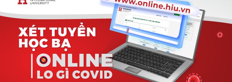 xét học bạ online vào HIU