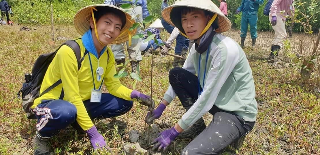 Một tuần trồng rừng cùng sinh viên Nhật Bản