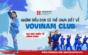 5 điều bạn có thể chưa biết về Vovinam Club – Đại học Quốc tế Hồng Bàng