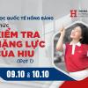 Đại học Quốc tế Hồng Bàng dời lịch thi đánh giá năng lực