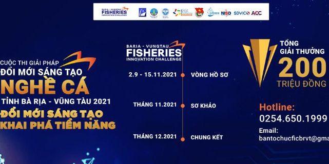 """Hội nghị phát động """"Cuộc thi đổi mới sáng tạo ngành khai thác và chế biến hải sản tỉnh Bà Rịa – Vũng Tàu năm 2021"""""""