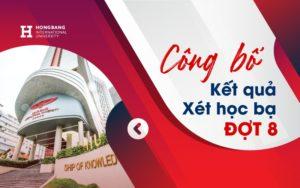 ĐHQT Hồng Bàng công bố kết quả trúng tuyển xét học bạ đợt 8