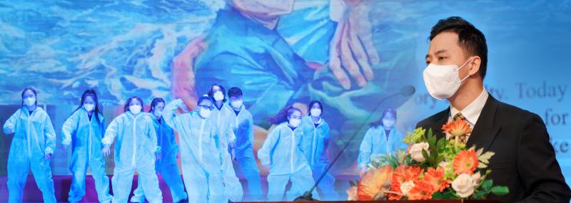 Thạc sĩ Vũ Hồng Hải – phó trưởng khoa Xét nghiệm Y học